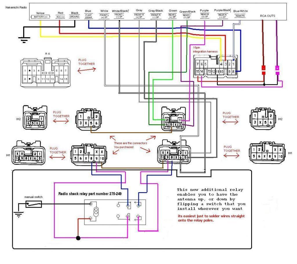 2011 smart car wiring diagram xin hƯỚng dẪn chẾ ngÕ ra cỦa dÀn cd xe hoi toyota - Điện ...
