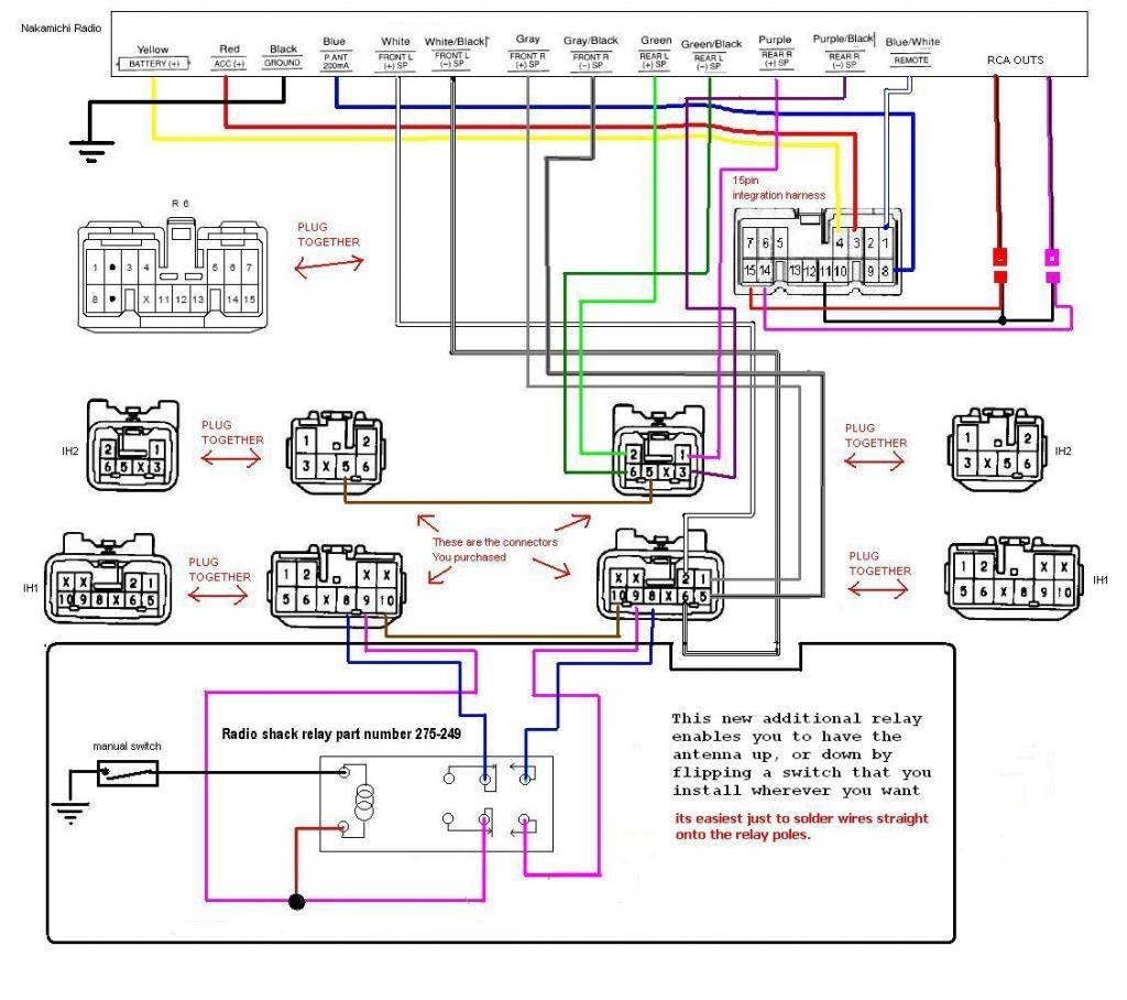 Fetch Id on Nissan Frontier Radio Wiring Diagram
