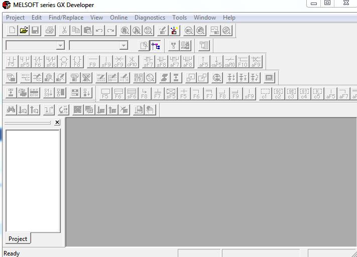 Lỗi không convert được trong GX Developer PLC Mitubishi